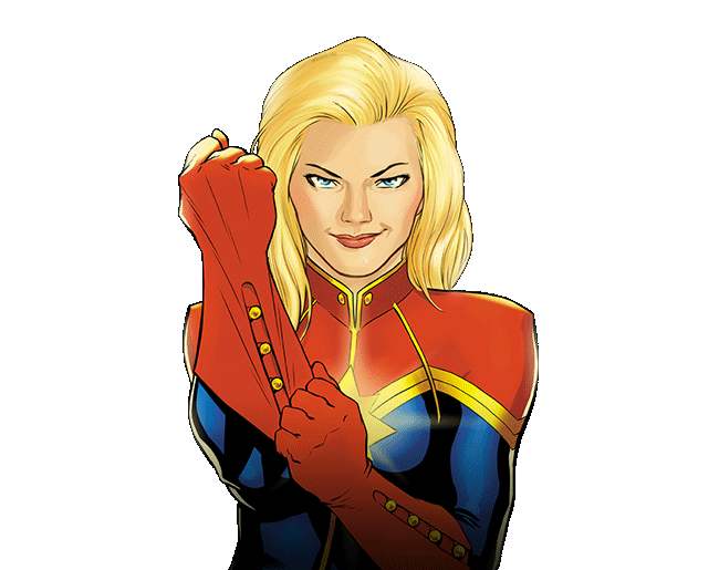 Could happen in a. Captain marvel carol png clipart black and white library