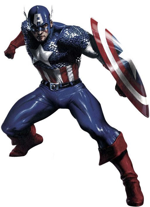 America peak human or. Captain marvel comic png image black and white library