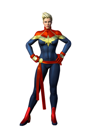 Carol danvers earth trn. Captain marvel comic png picture black and white