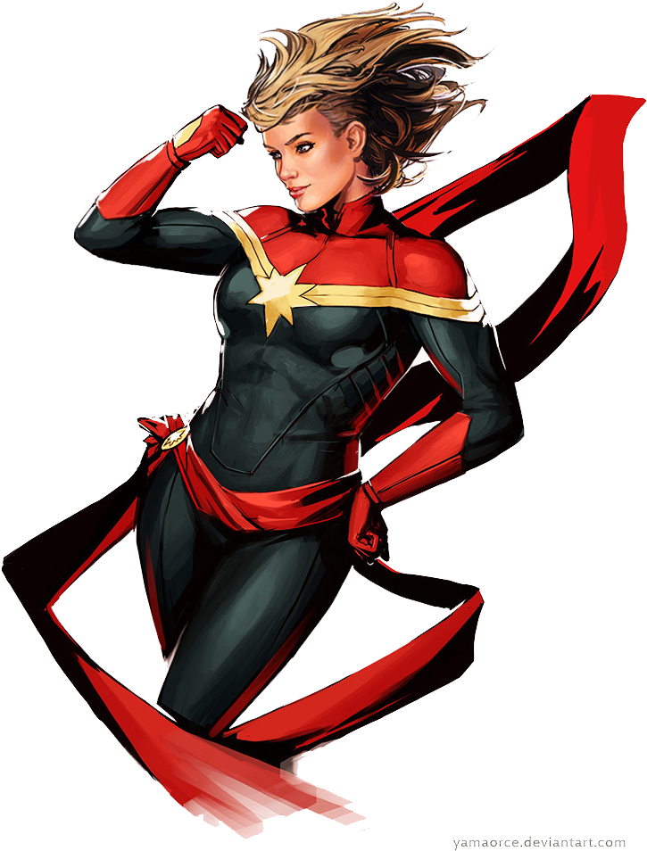 Captain marvel png. Download transparent image no