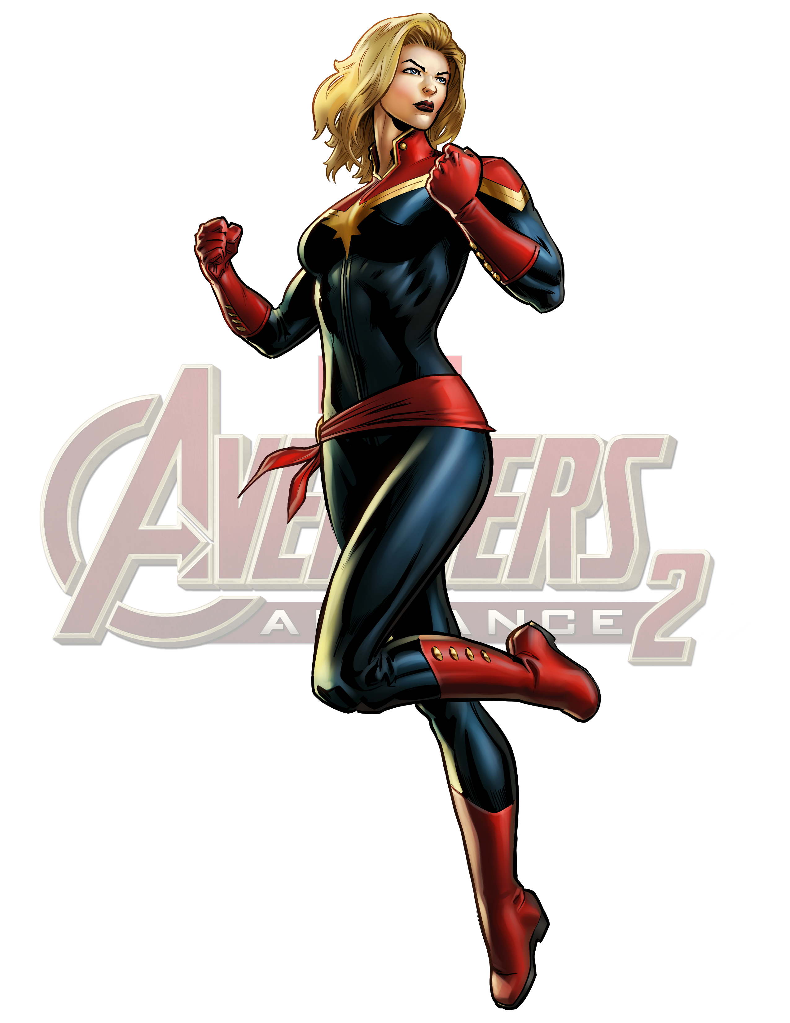Image icon avengers alliance. Captain marvel png vector transparent