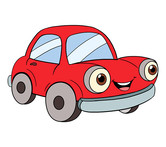 Car cartoon png. Group how to draw