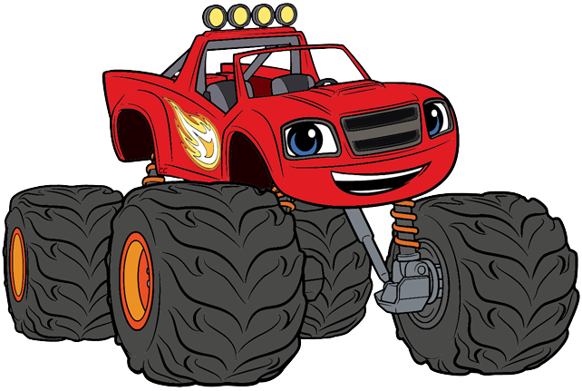Blaze and the monster machines png