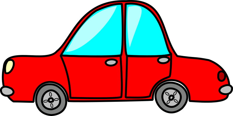 Car clipart pdf. Free red cliparts download