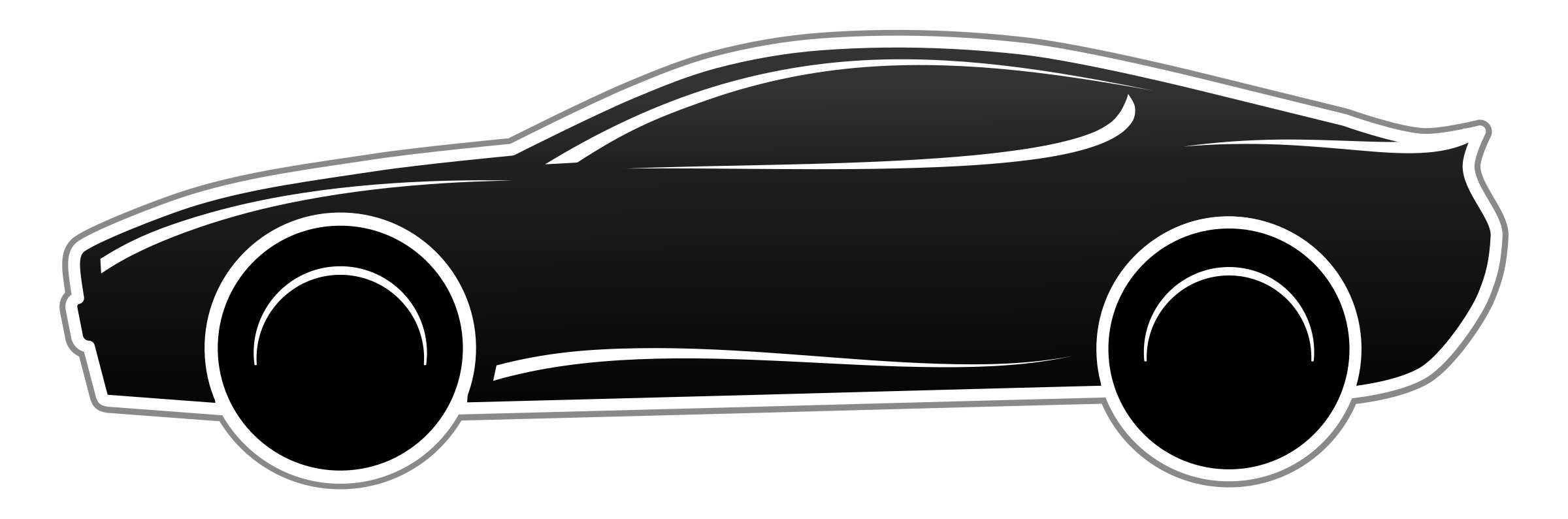 Semi svg black and white. Fast car png transparent