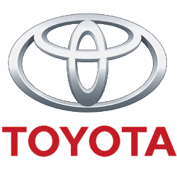 Toyota logo and worldwide. Car company logos png banner royalty free stock