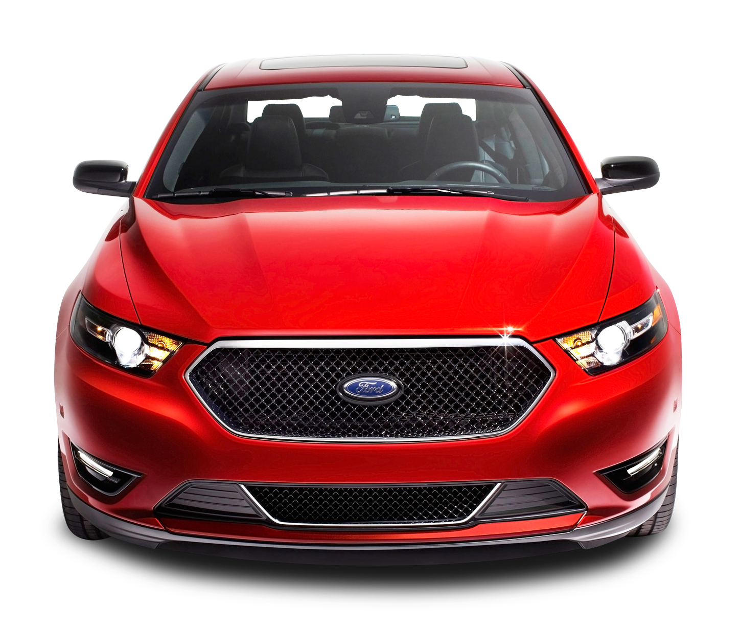 Car front png. Red ford taurus image