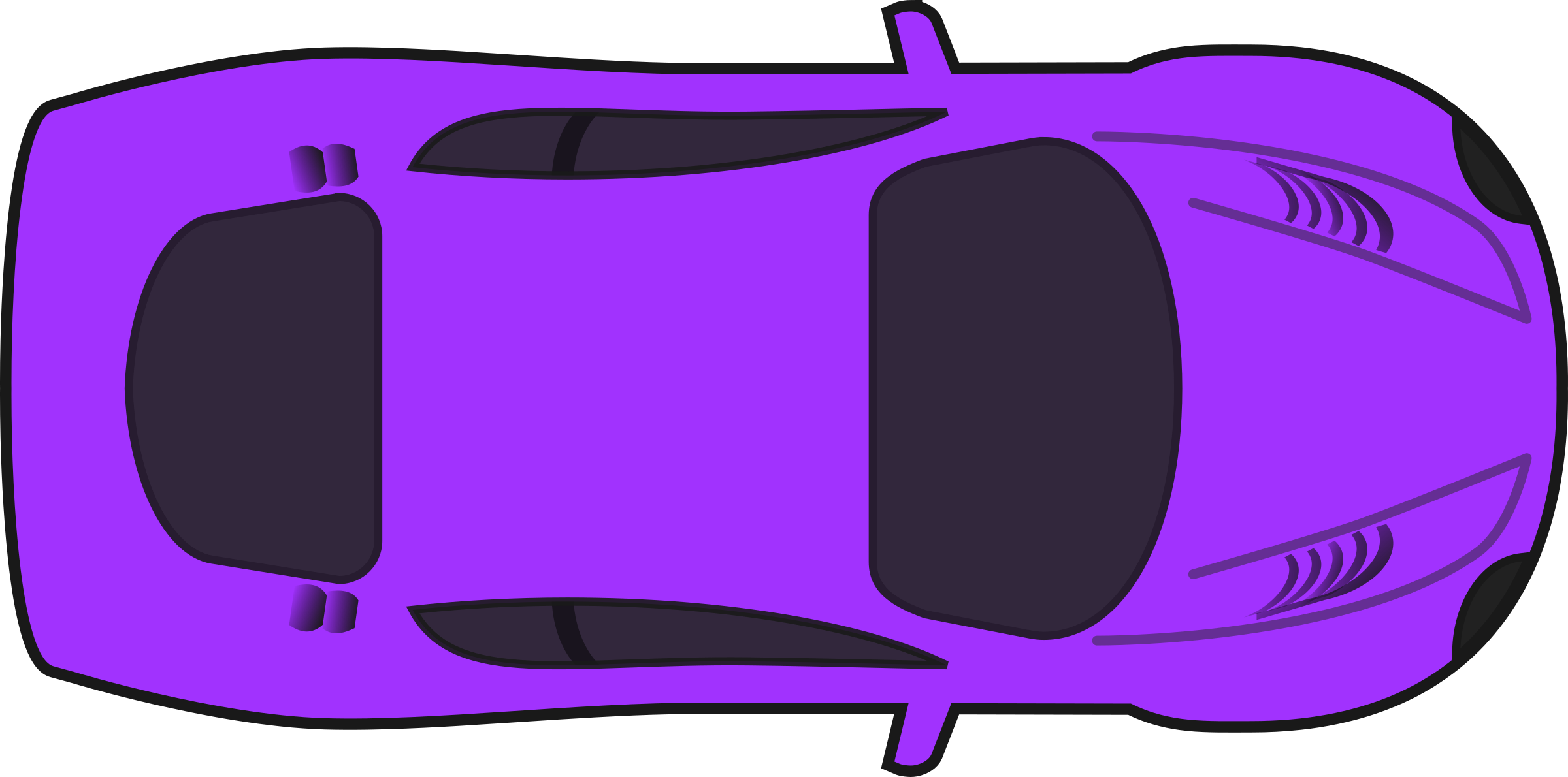 Car front view png red sprite. Clipart purple racing top