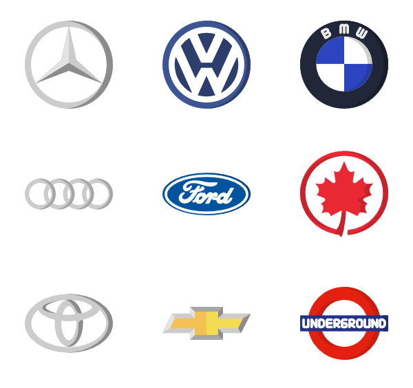 Car logo png. Icon packs vector