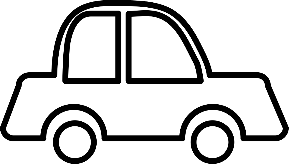 Car outline png. Svg icon free download