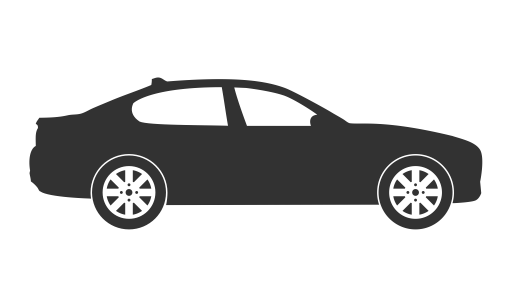 Car png icon. Silhouettes by jim ceasar