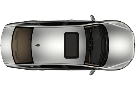 Car png top. View of a transparent