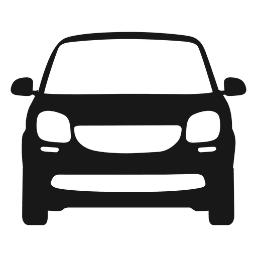 Cars vector png. Smart car front view