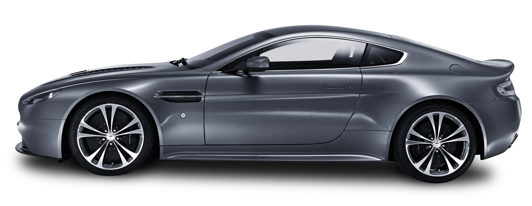 Car side view png. Sideview v aston martin