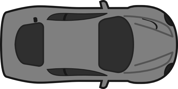 Car top view png. Red clip art at