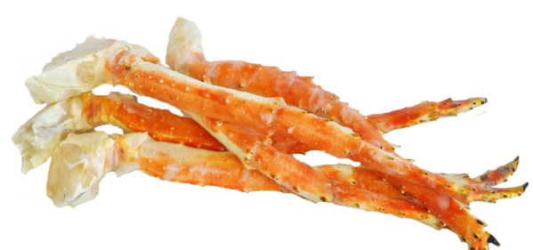 Carb legs png. King crab extra large