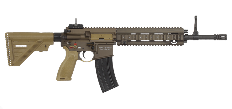 Weapon clip assault rifle. Heckler koch product overview