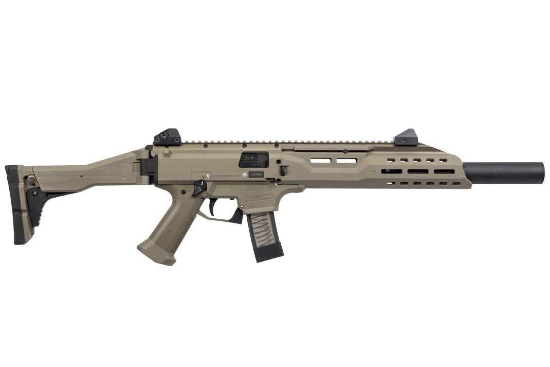 Transparent rifle old. Cz usa scorpion evo