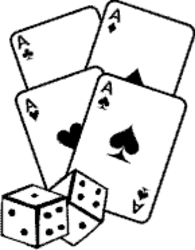 Card clipart dice card. Game contacts