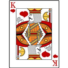 Card clipart heart king. Playing cards free jack