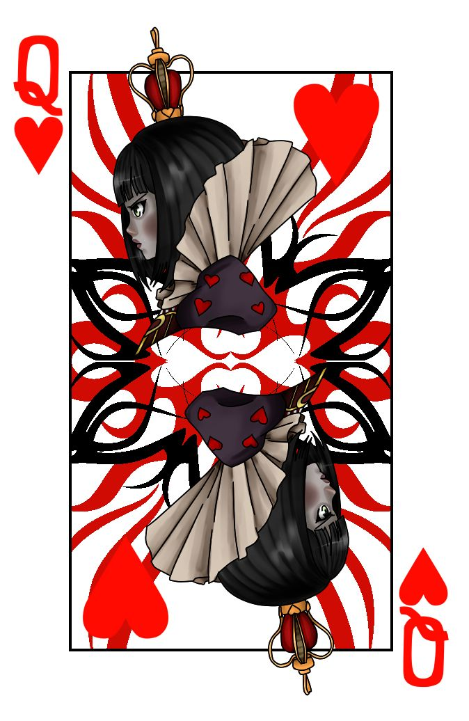 Card clipart heart queen. Best cards images