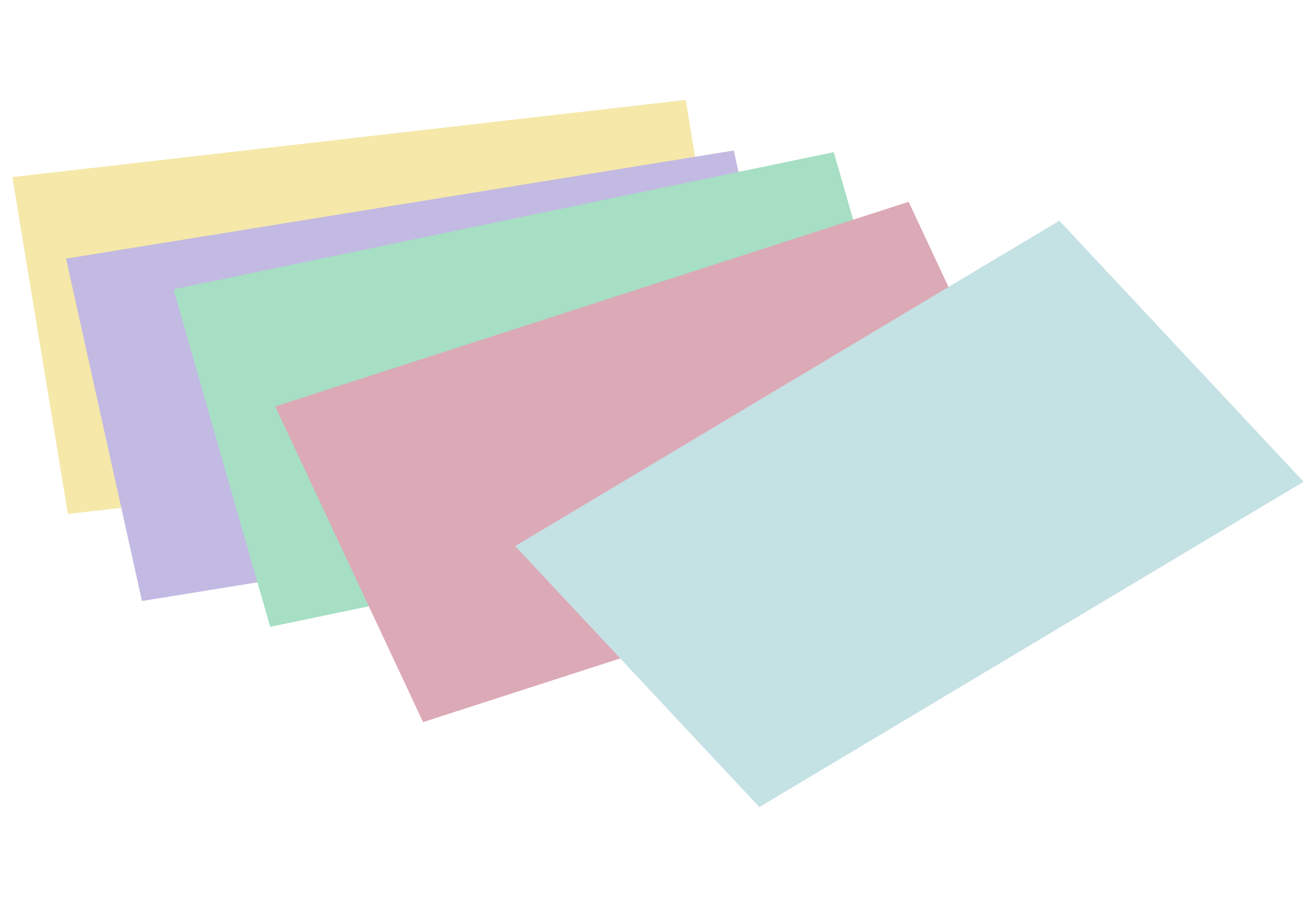 Card clipart note card. Stack of unlined colored