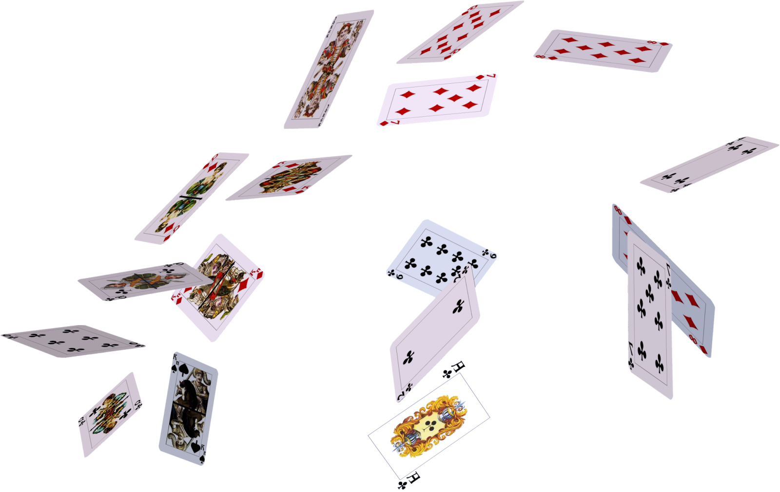 Images free download card. Cards falling png clip transparent download