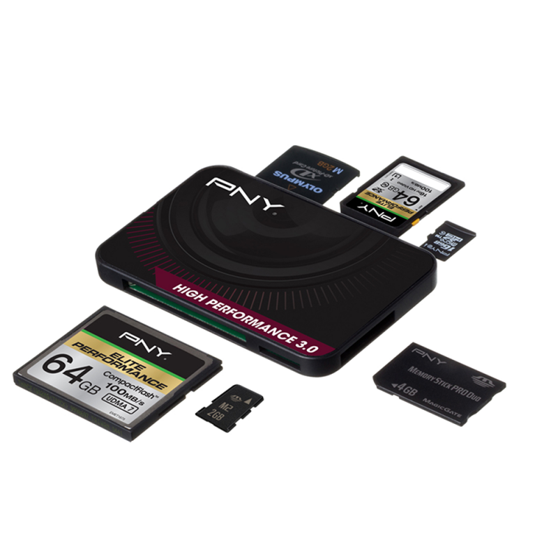 Card reader png. High performance pny technologies