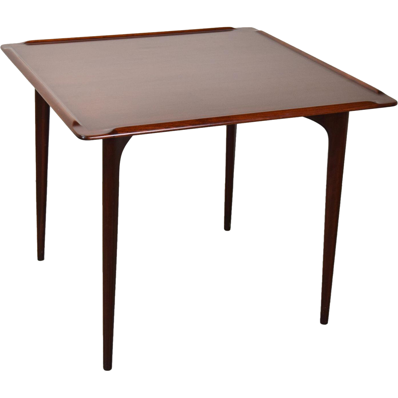 Card table png. Vintage mid century modern