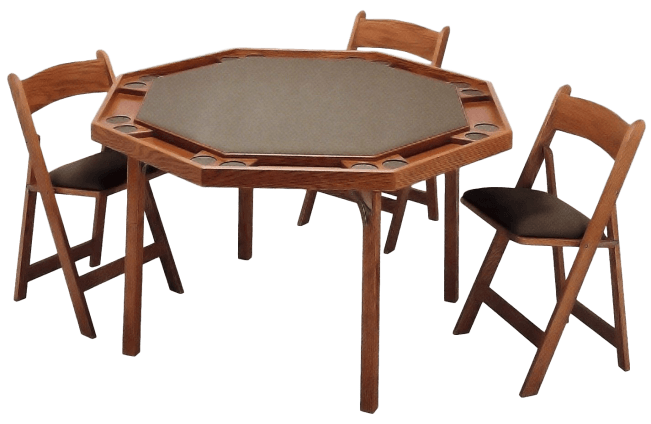 Card table png. Maple folding peters billiards