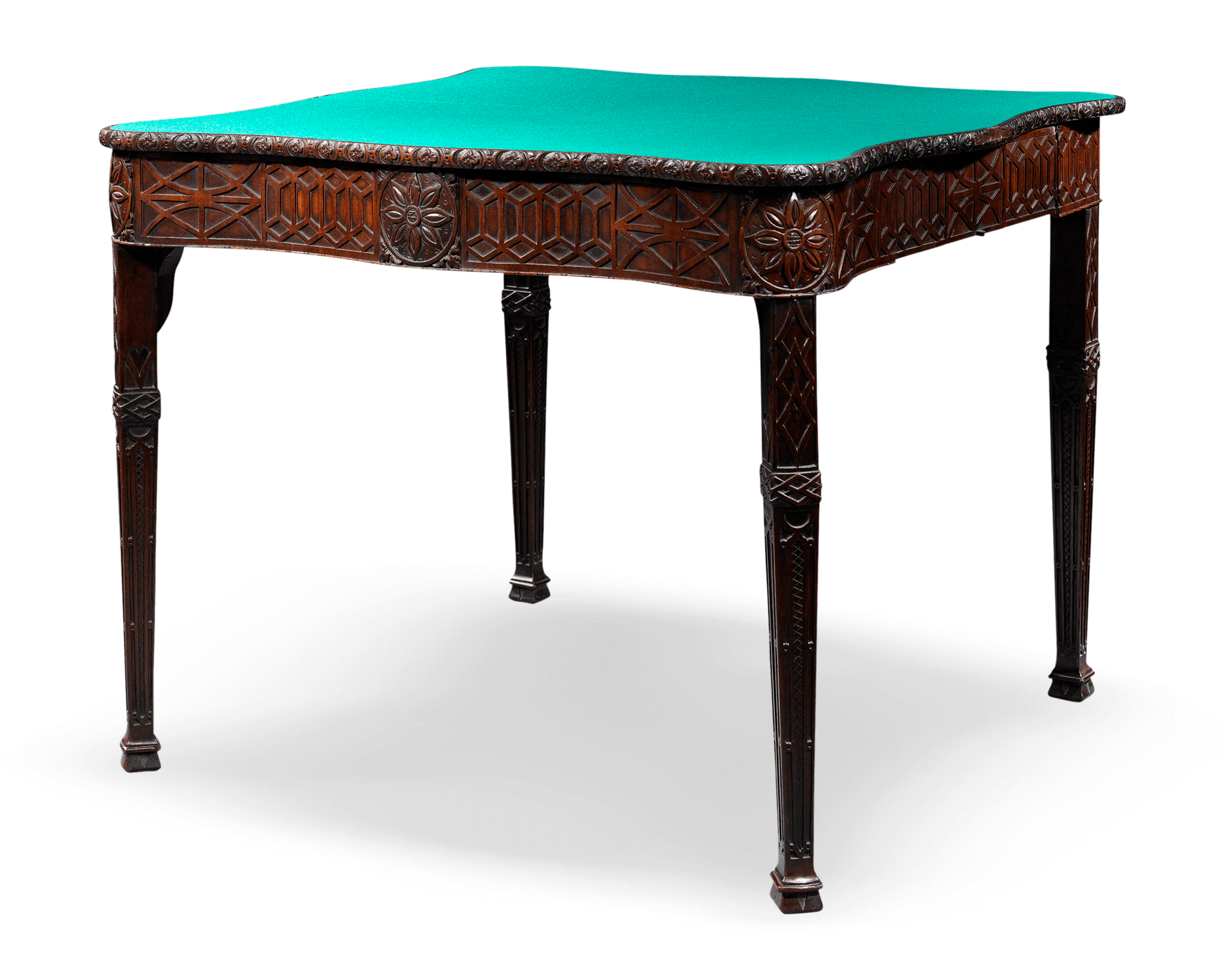 Card table png. Antique furniture english games
