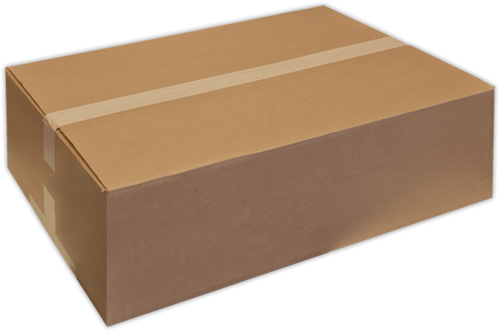 Cardboard boxes png. Brown corrugated box for