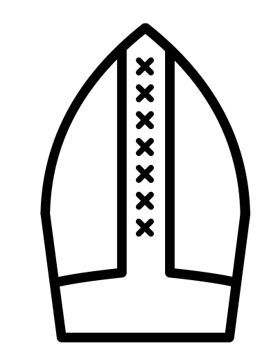 Pope hat png. Icons for free bishop