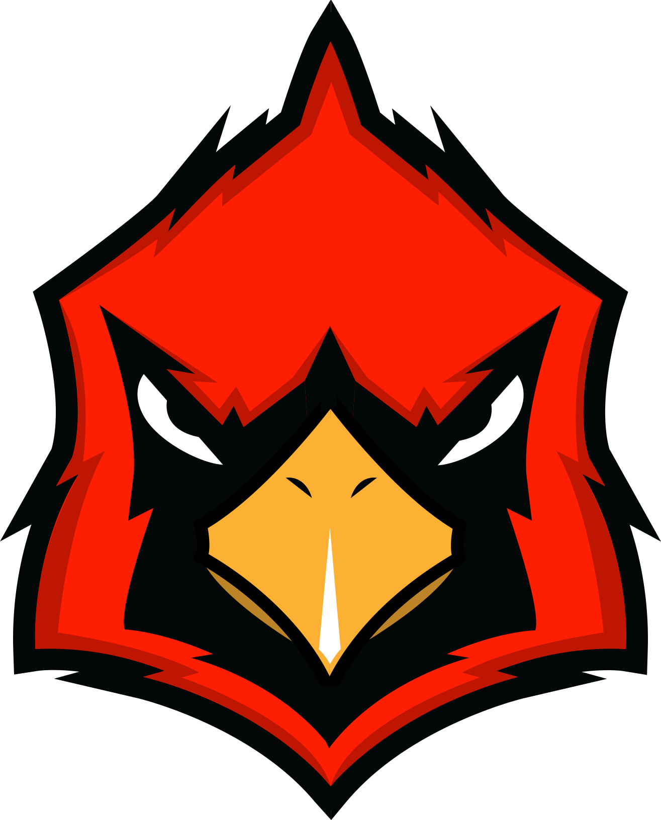 Cardinals logo png. High school rebrand concepts