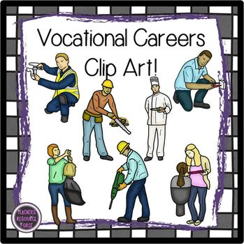Career clipart vocation. Vocational careers clip art
