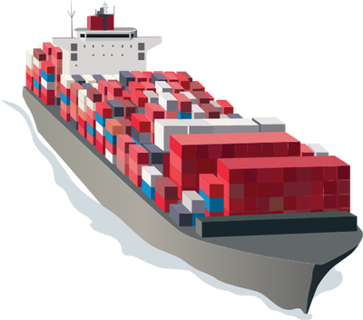 Cargo ship png. Collection of clipart