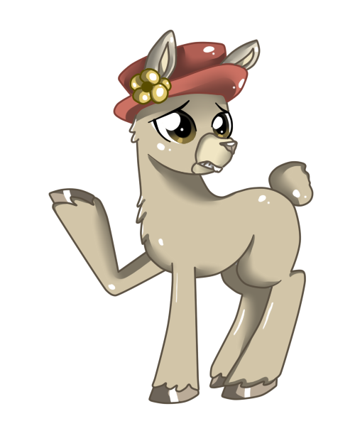 Carl the llama png. Llamas with hats paul