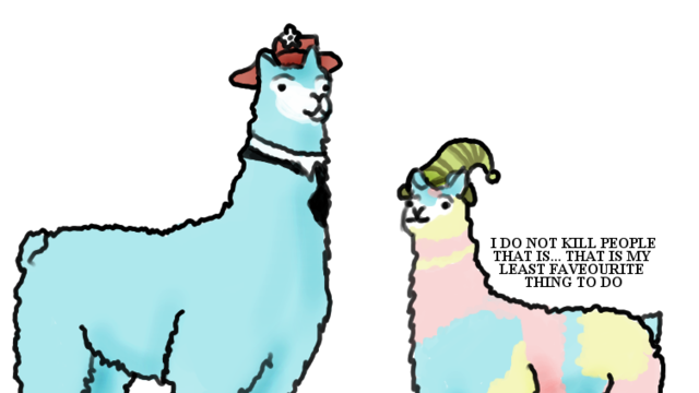 Carl the llama png. Ask tumblr