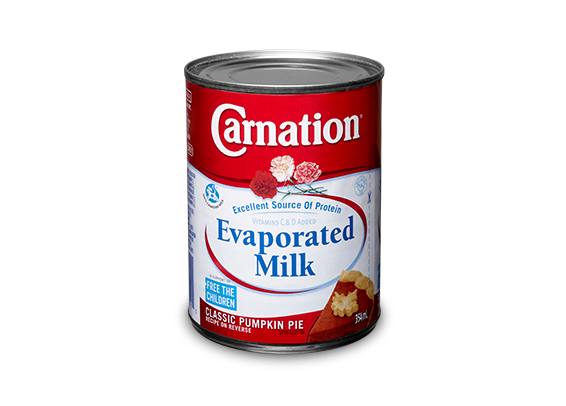 Carnation milk png. Evaporated canned skim