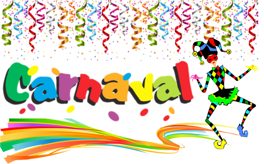 Carnaval.. Line cartoon clipart carnival