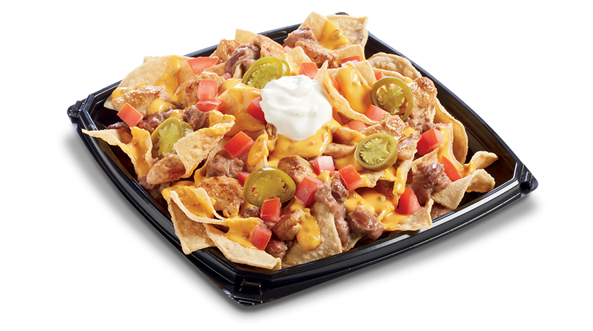 Steak nachos png. Mountain express delivery queso