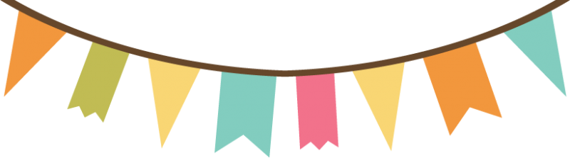 Pennant svg birthday. Banner file for scrapbooking
