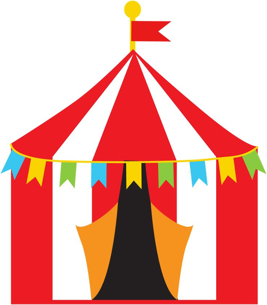 Carnival clipart. Free tent images at