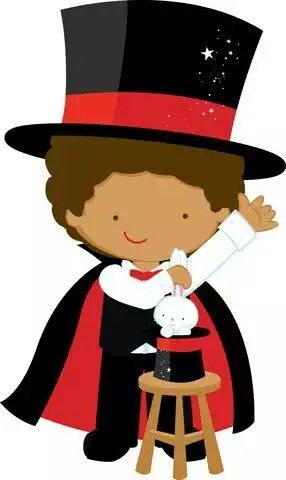 Clip art free bulletin. Carnival clipart magician picture freeuse download