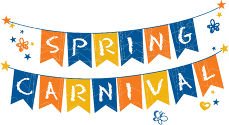 Carnival transparent welcome. Spring to sacajawea elementary