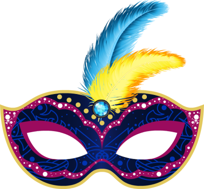 Carnival png transparent images. Mask clipart clip free stock