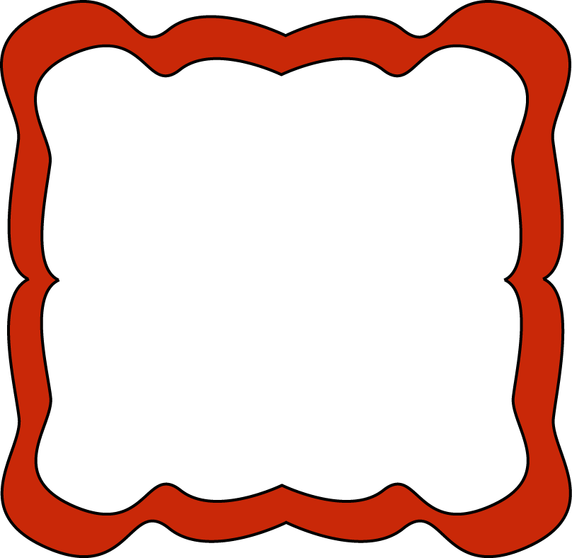 Carnival transparent border. Red jpg library