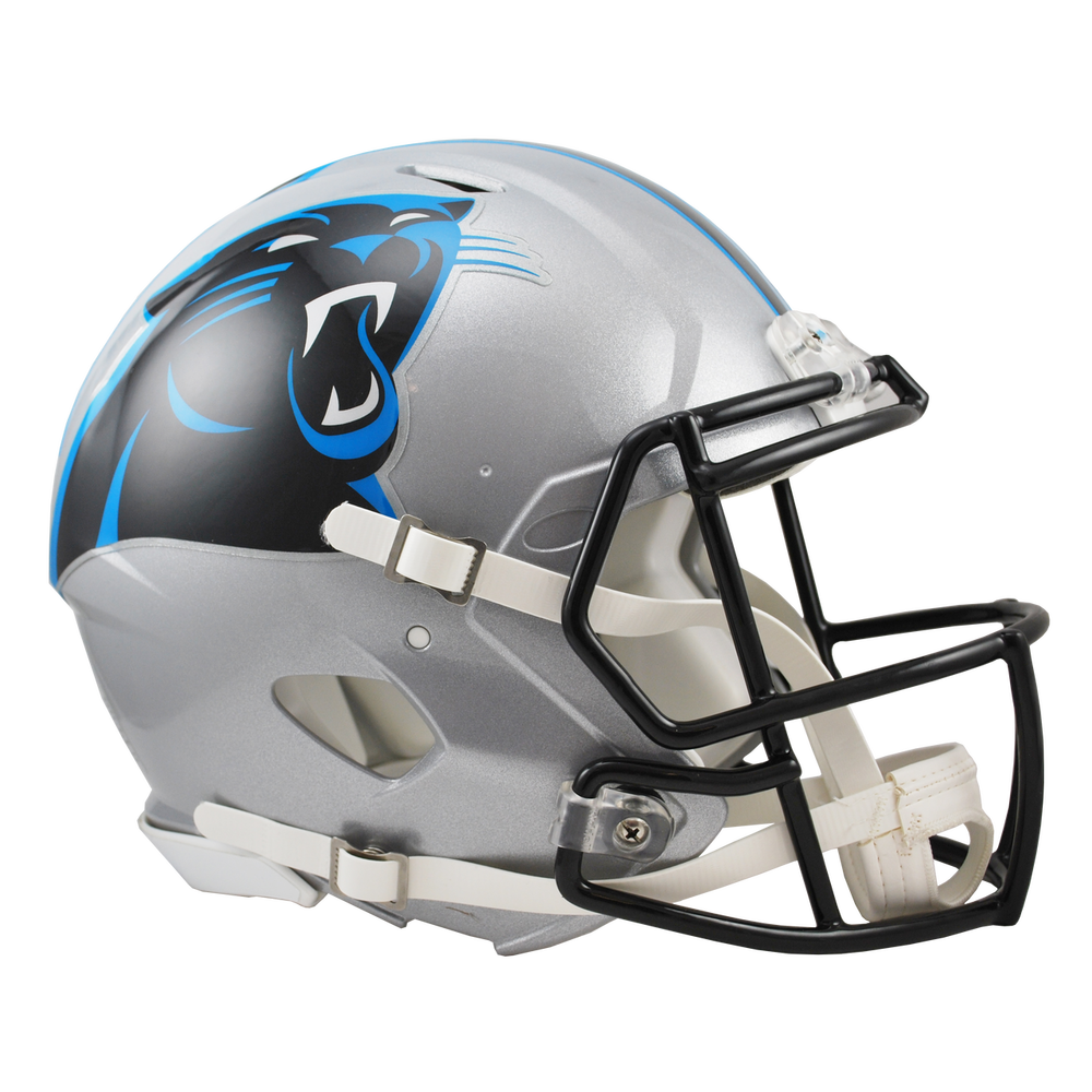 Carolina panther png. Authentic full size helmet