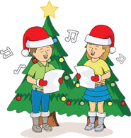 Caroling clipart christmas. Search results for clip