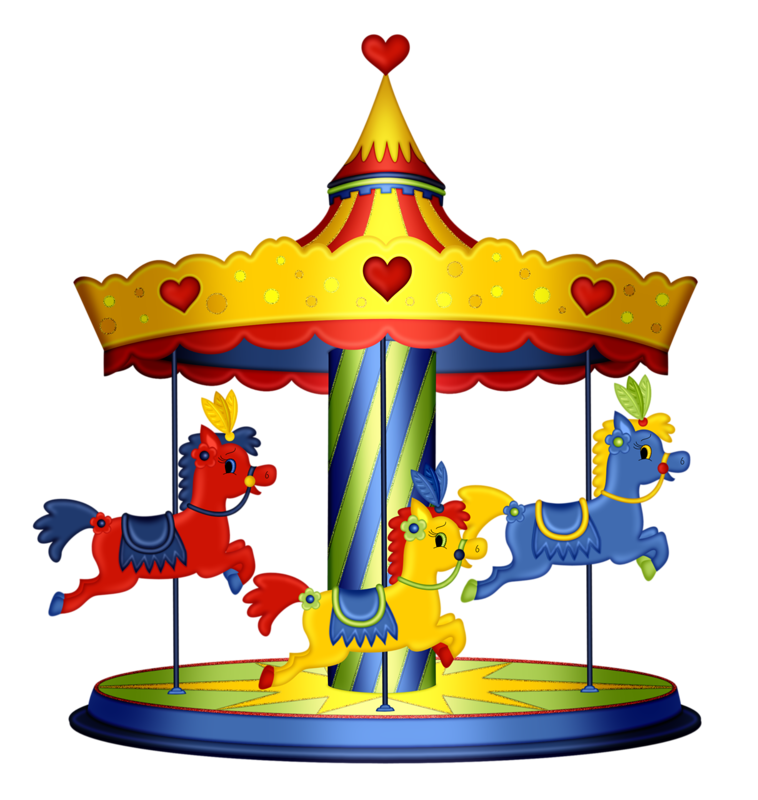 Carousel clipart baby blanket. Pps png circus pinterest